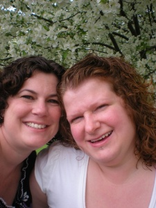 me and erin may 2009
